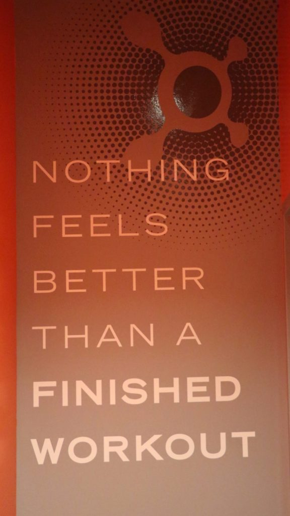 nothing feels better than a finished workout - fitness inspirational quote