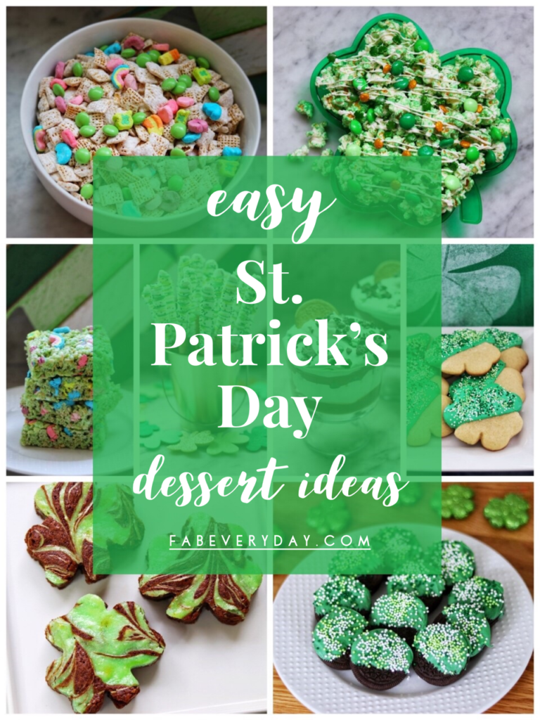 St. Patrick's Day Snacks for Kids: Easy, Kid-Friendly St. Patrick's Day Dessert Ideas