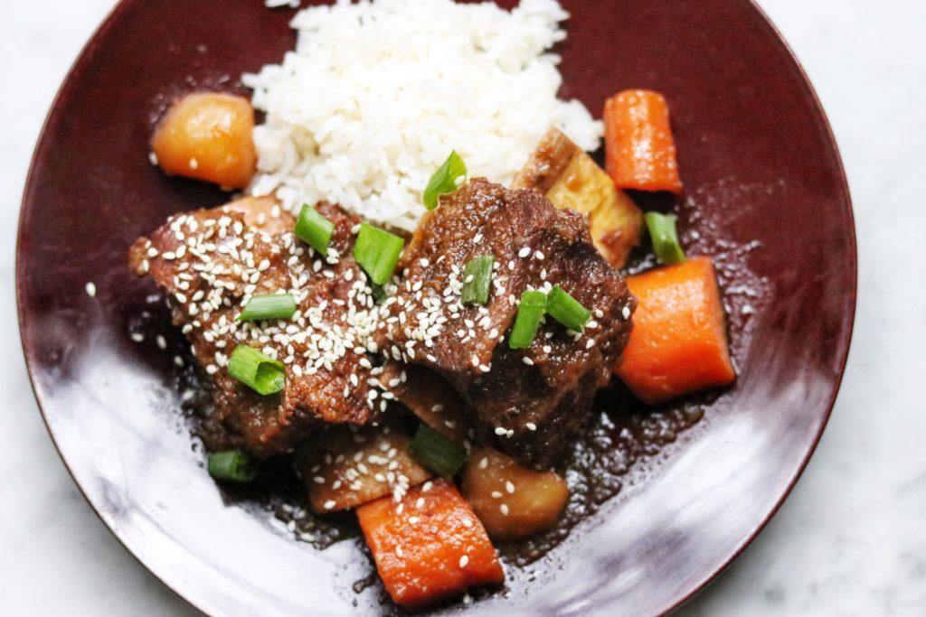 pressure cooker korean short ribs