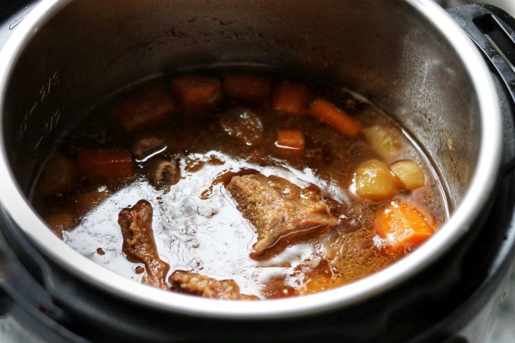 korean short ribs instant pot