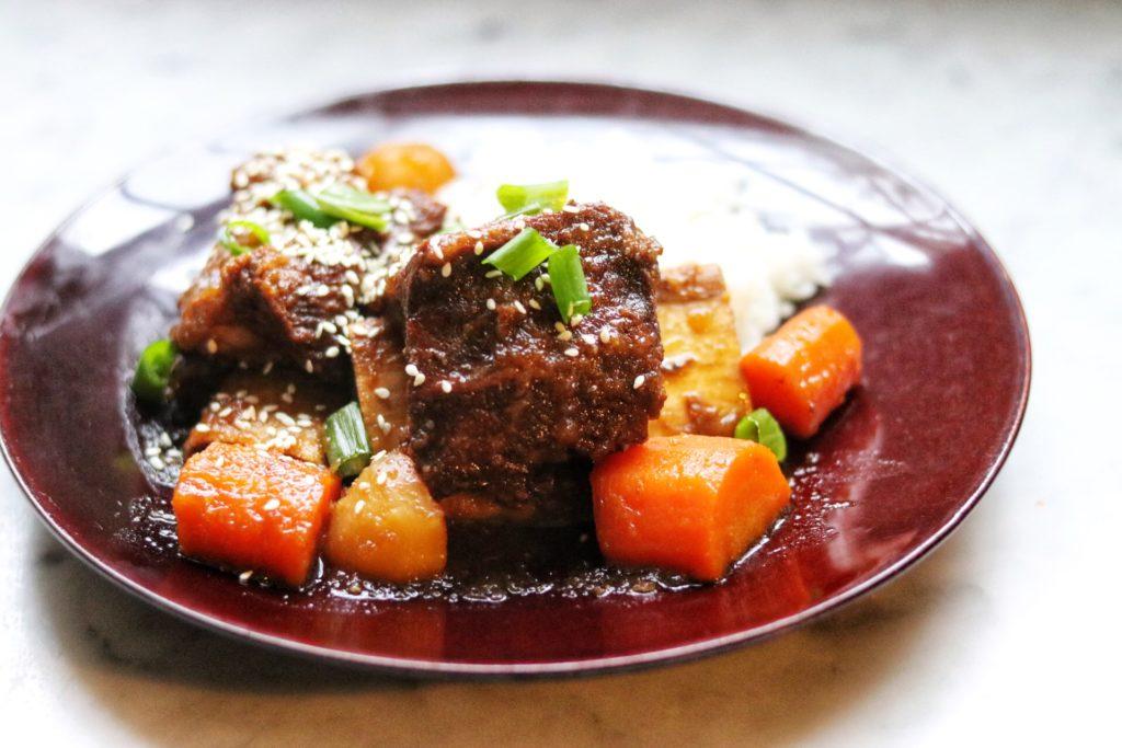 instant pot korean ribs recipe