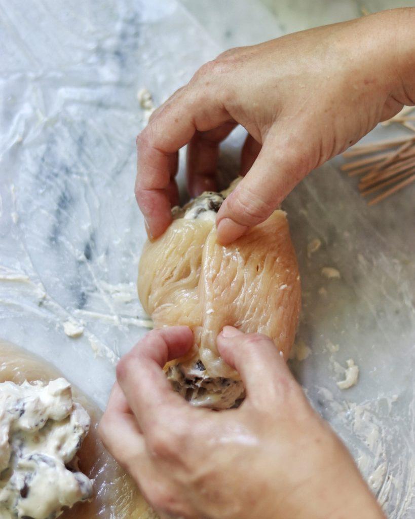 keto stuffed chicken breasts