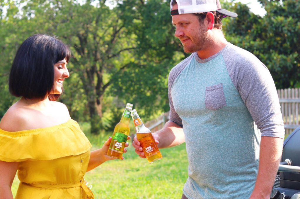 Bud Light Lime and Orange - drink idea for a summer cookout