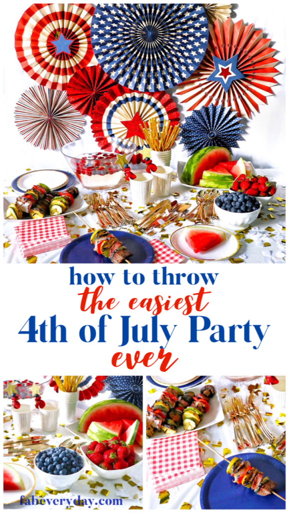 Food Ideas For Christmas In July Party.Bring Out The Red White And Blue Decorations Supplies