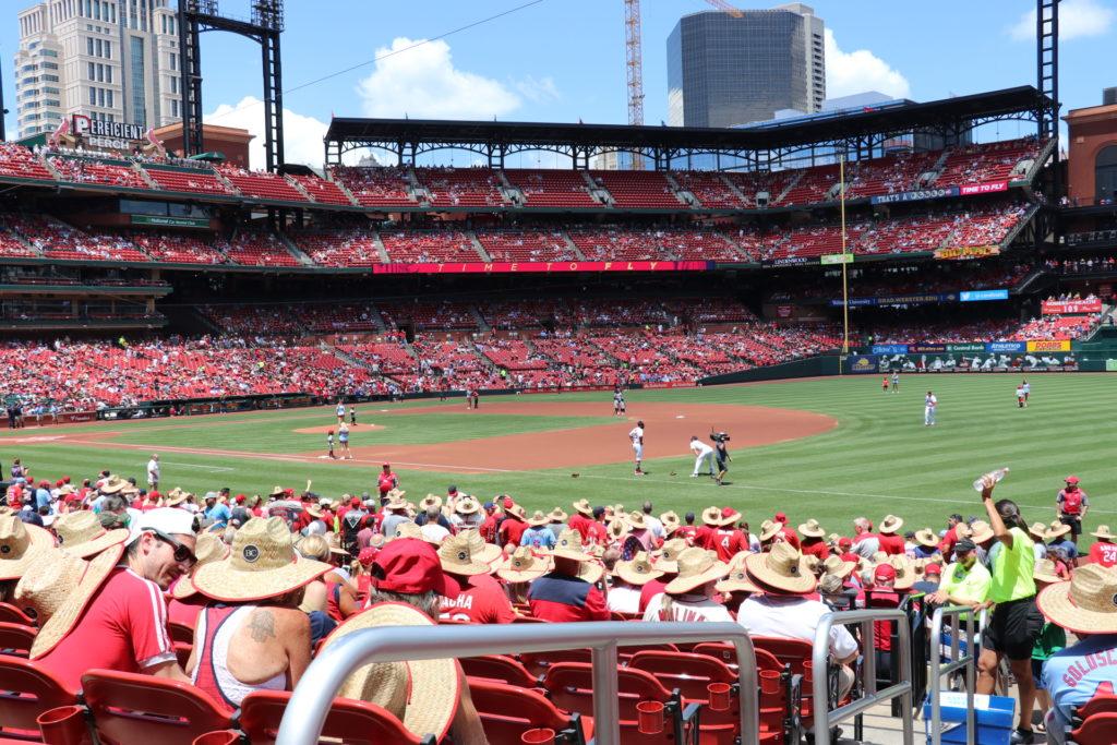 st louis cardinals game at busch stadium