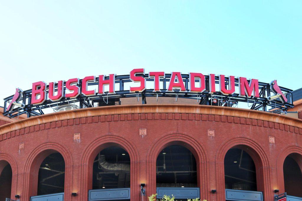 Busch Stadium in St. Louis