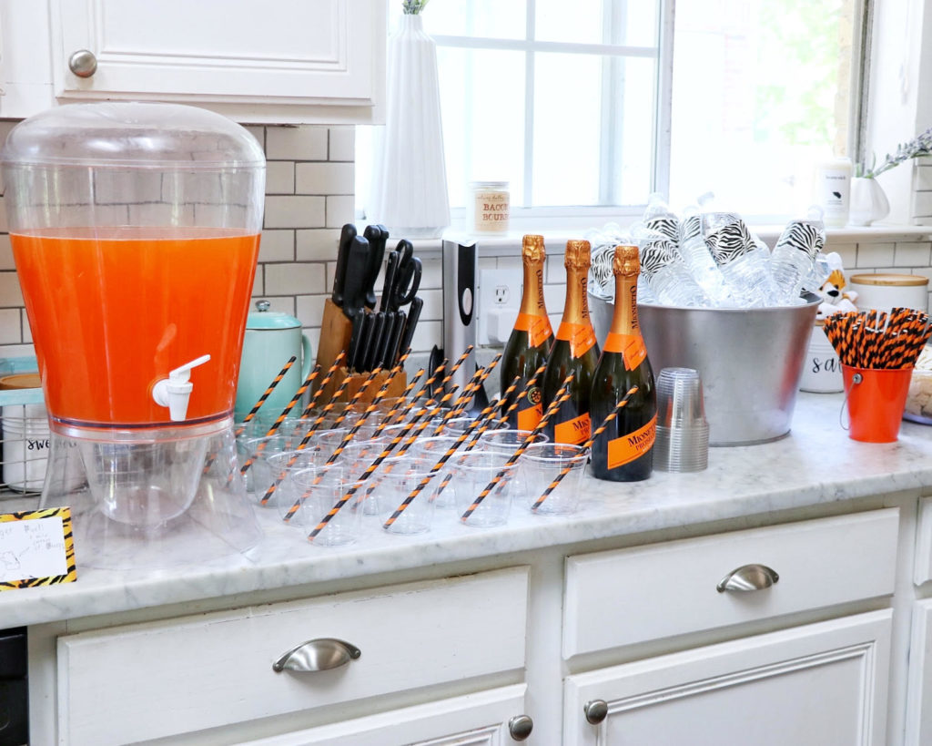 Beverage ideas for a tiger birthday party