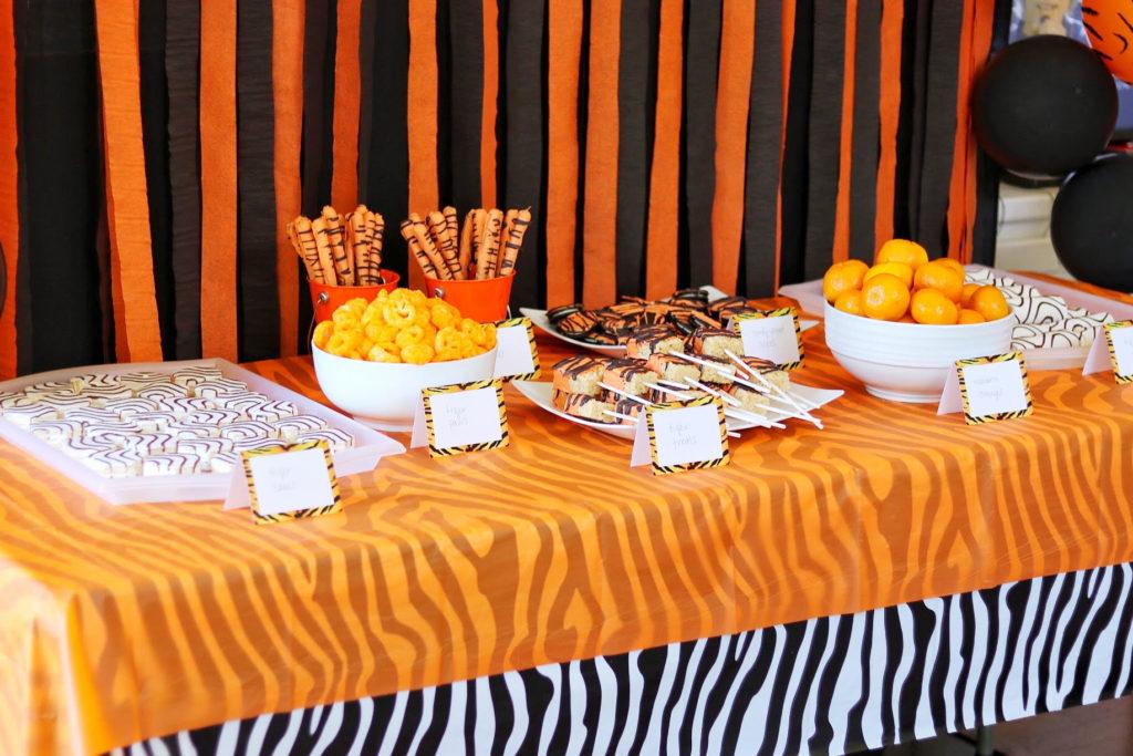 easy daniel tiger birthday party food ideas