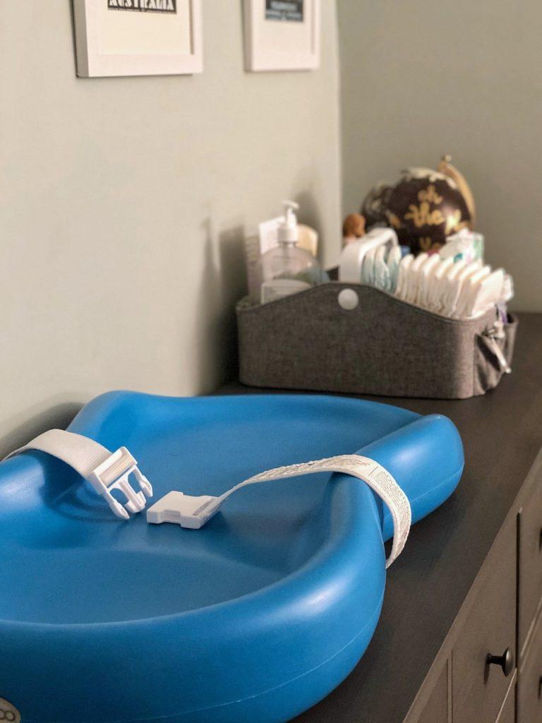 Must Have Baby Item: Keekaroo Peanut Diaper Changer