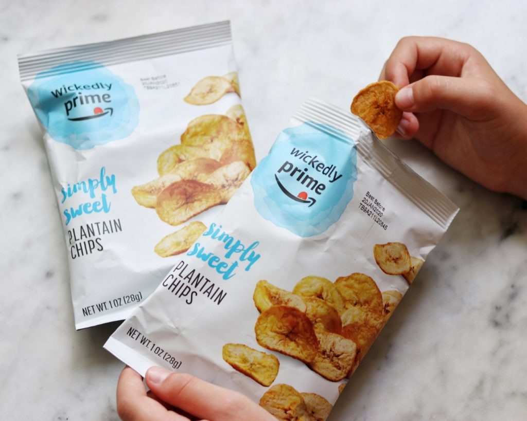 amazon wickedly prime simply sweet plantain chips
