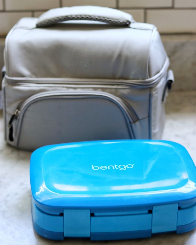 Bentgo Fresh Leak-Proof, Versatile 4-Compartment Bento-Style Lunch Box and Insulated Lunch Tote