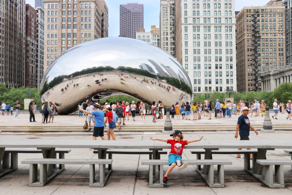 what to do in chicago with kids: sight seeing