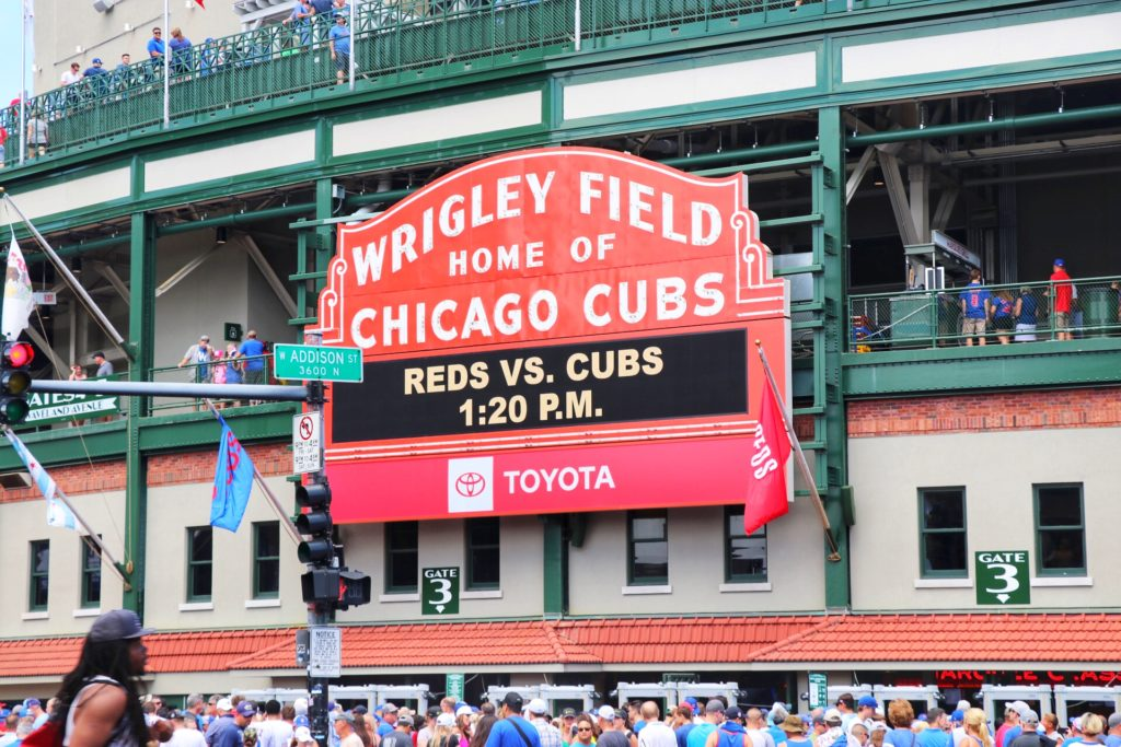 what to do in chicago with kids: see a cubs game at wrigley field