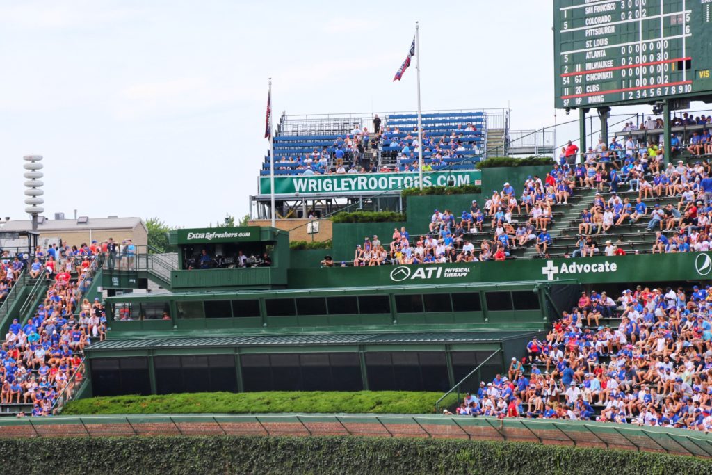 seeing a cubs game at wrigley field with kids
