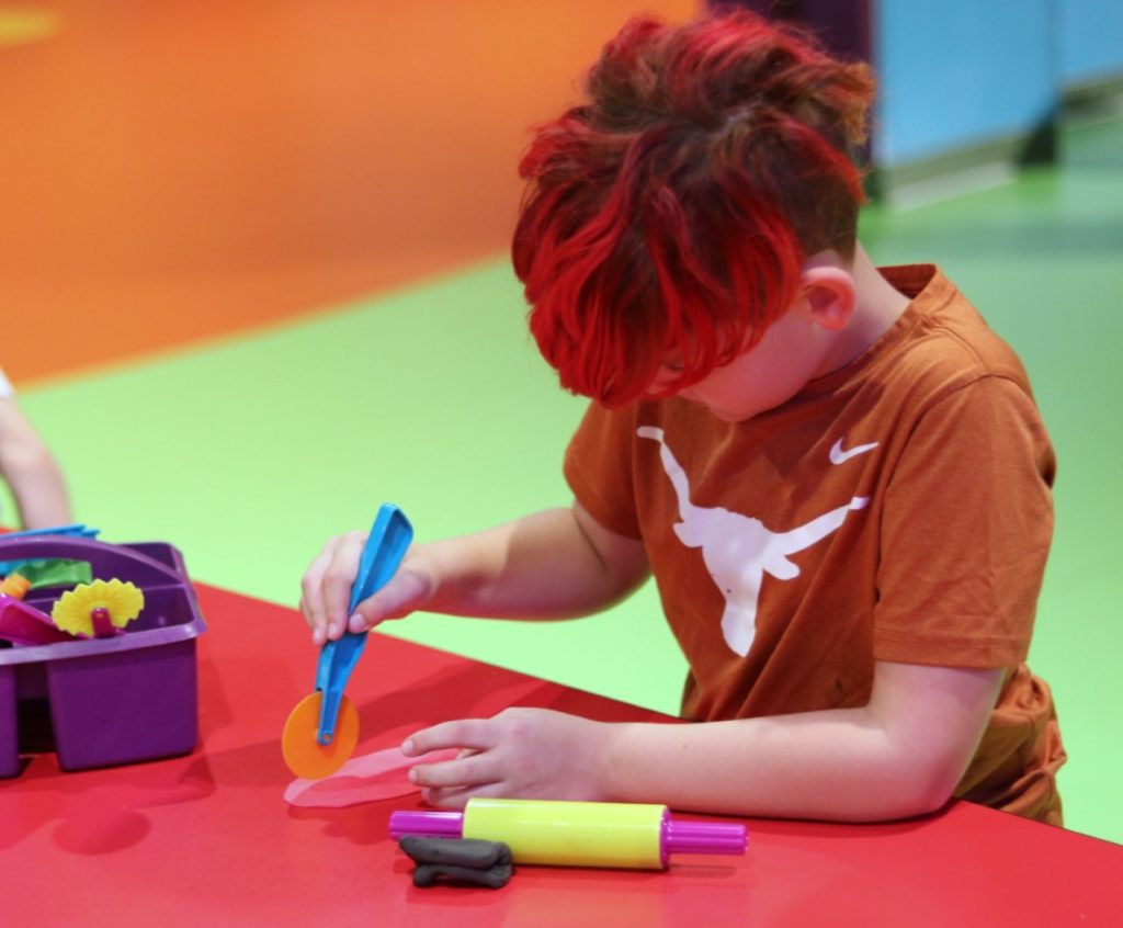 Clay activities at Crayola Experience