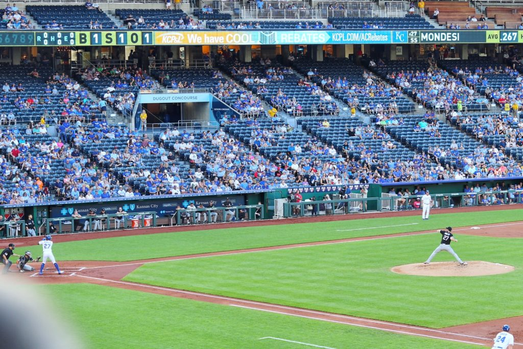 attending a royals game at kauffman stadium