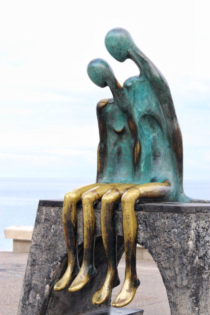 Nostalgia by Ramiz Barquet on Puerto Vallarta's Malecón