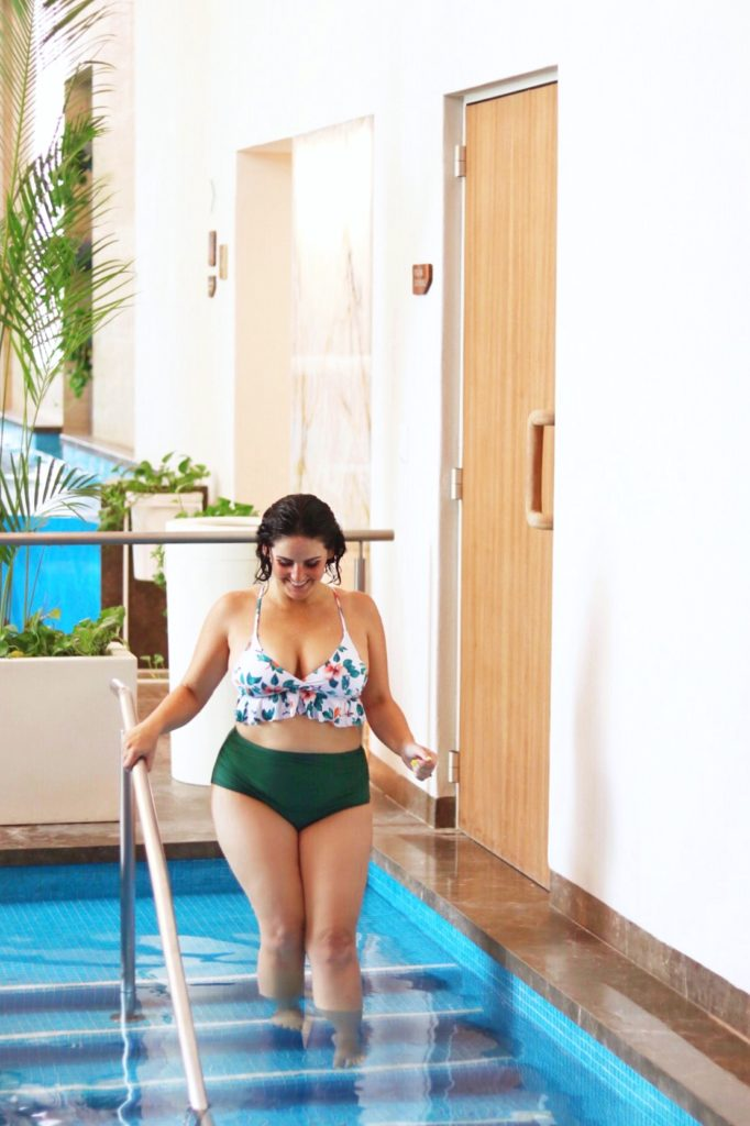 hydrotherapy at Maiavé Spa in Puerto Vallarta