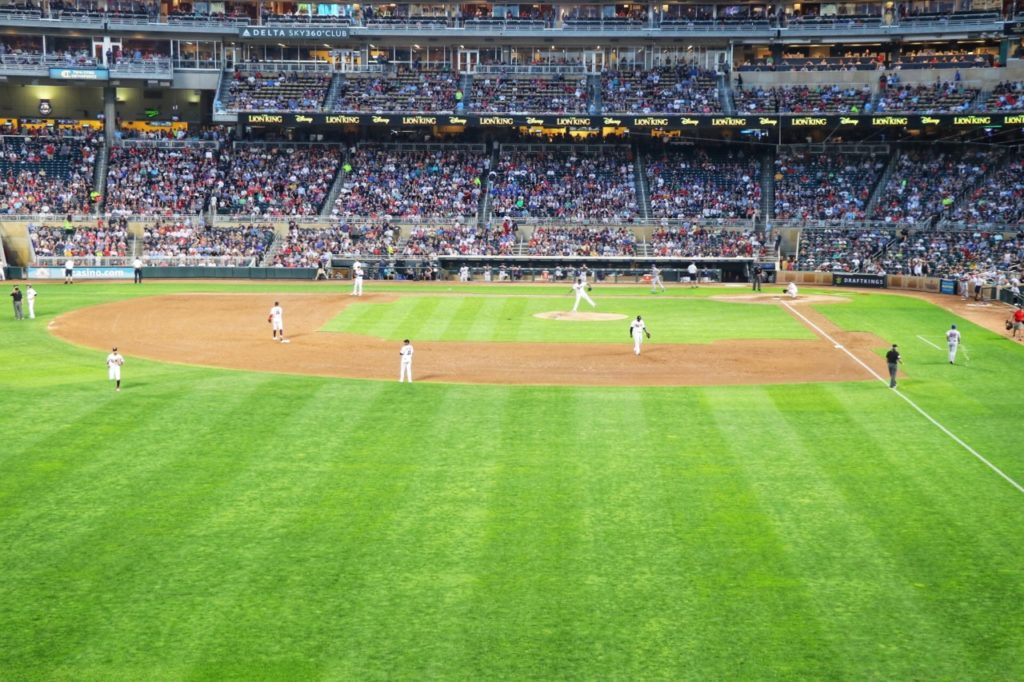 Minnesota Twins Target Field in Minneapolis