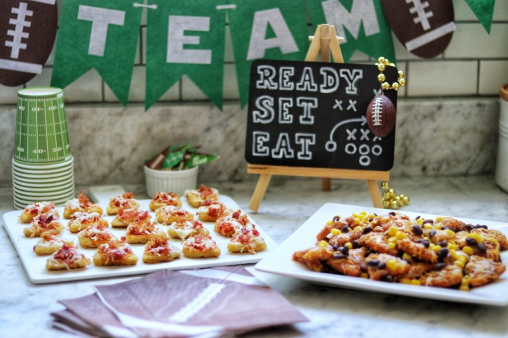 Easy recipes for football party