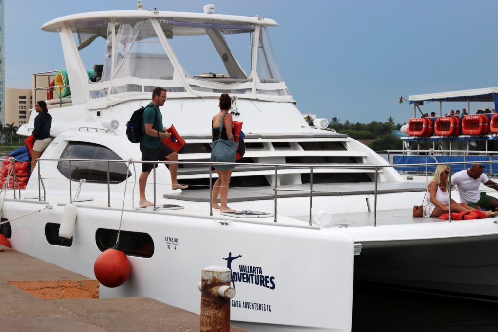 luxury catamaran tour with vallarta adventures