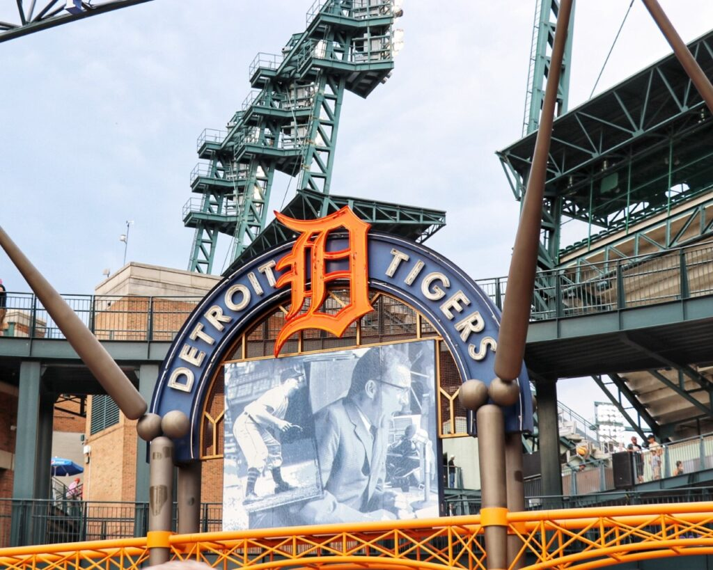 Taking your family to a Detroit Tigers game at Comerica Park