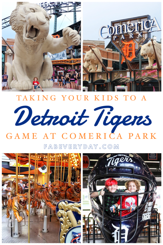 Travel Tuesday: Taking your kids to a Detroit Tigers game at Comerica Park