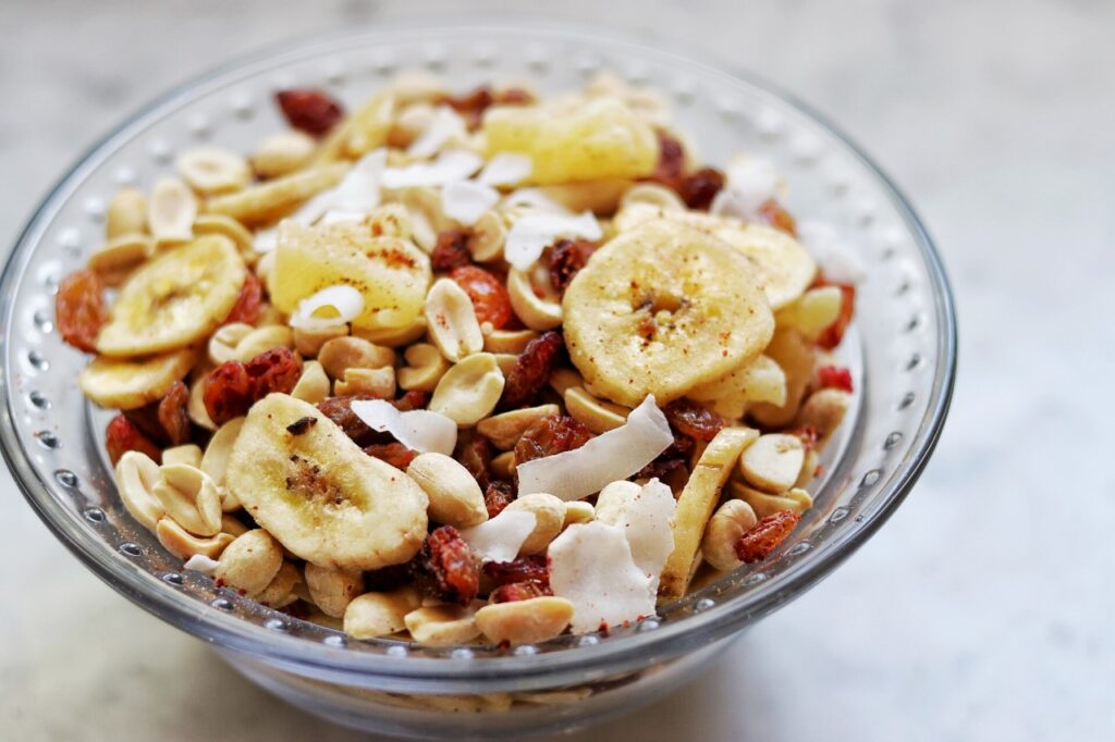 Picnic food list: Easy Sour and Sweet Trail Mix