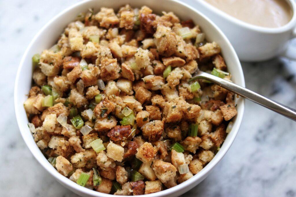 Easy, delicious Vegan Gluten Free Stuffing recipe