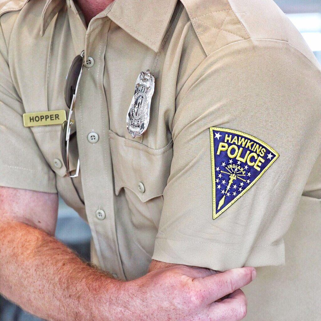 Hawkins Police Chief Hopper Halloween costume