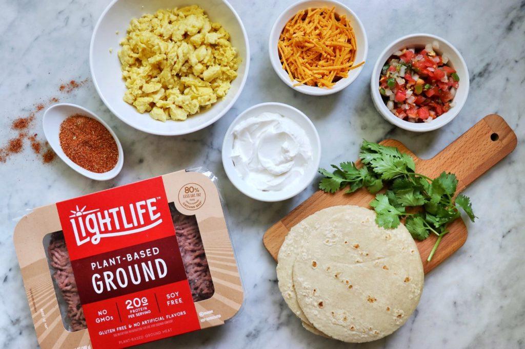 how to make vegan breakfast tacos