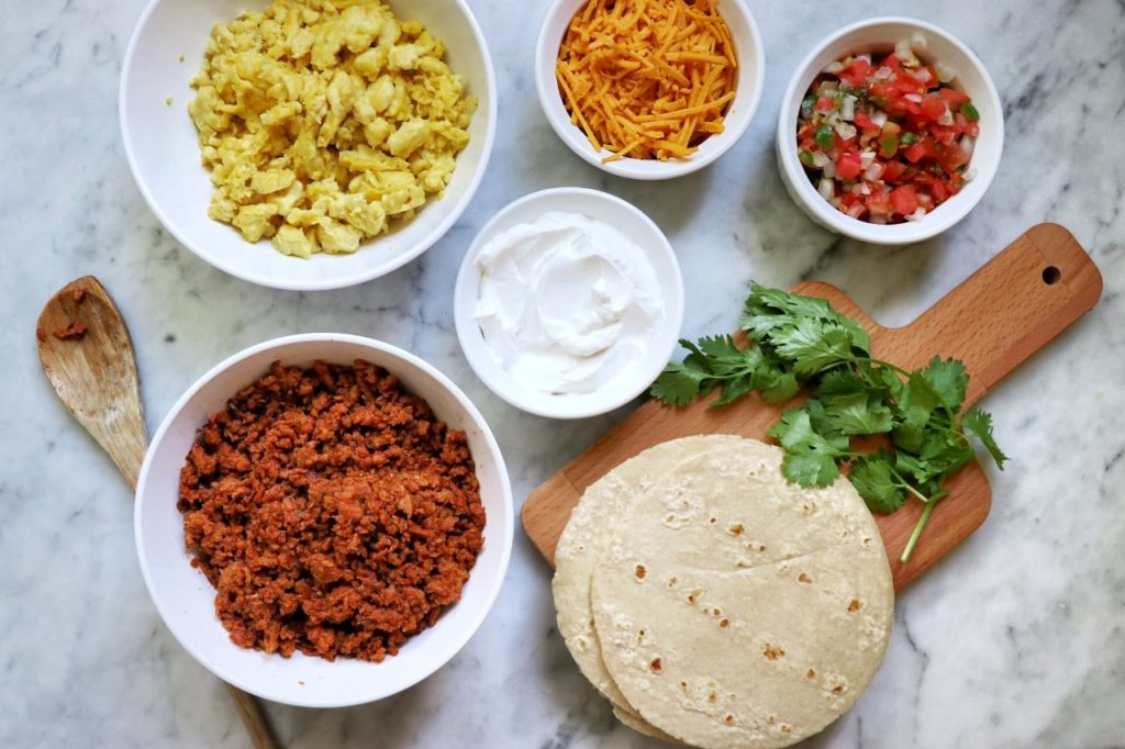 can you make breakfast tacos vegan?