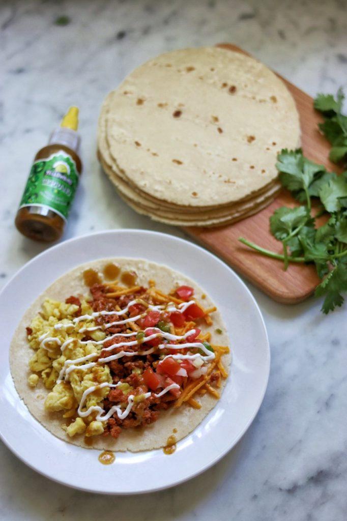 delicious vegan breakfast tacos recipe