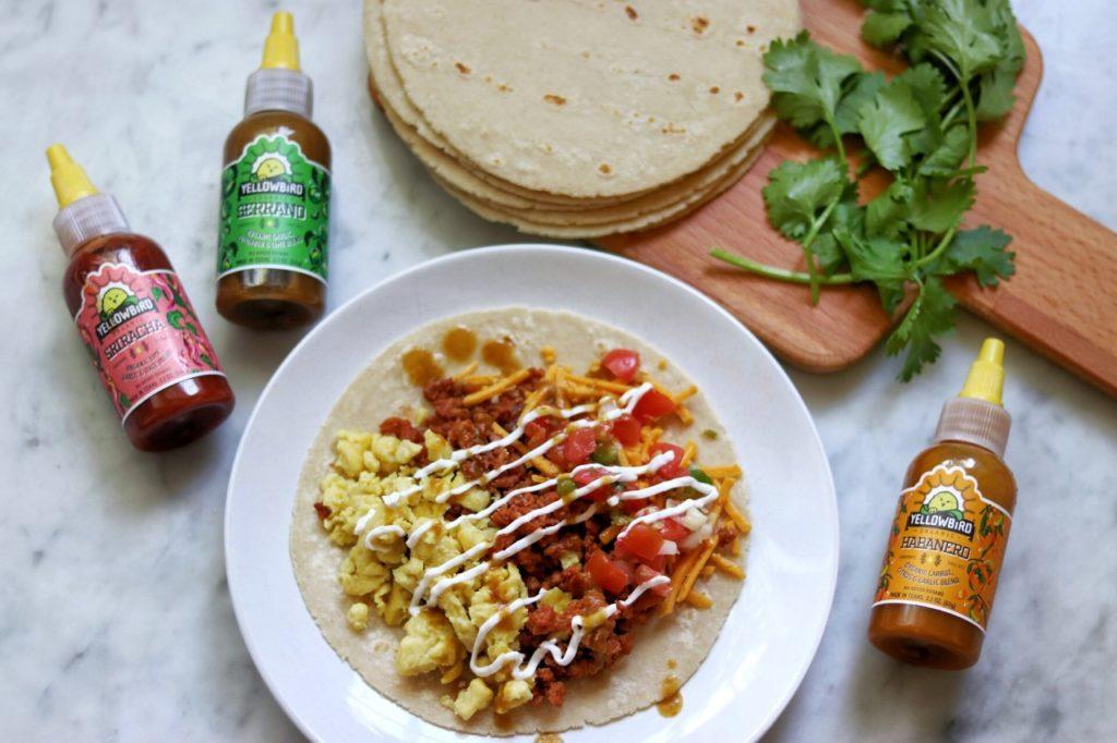 Easy vegan breakfast tacos recipe