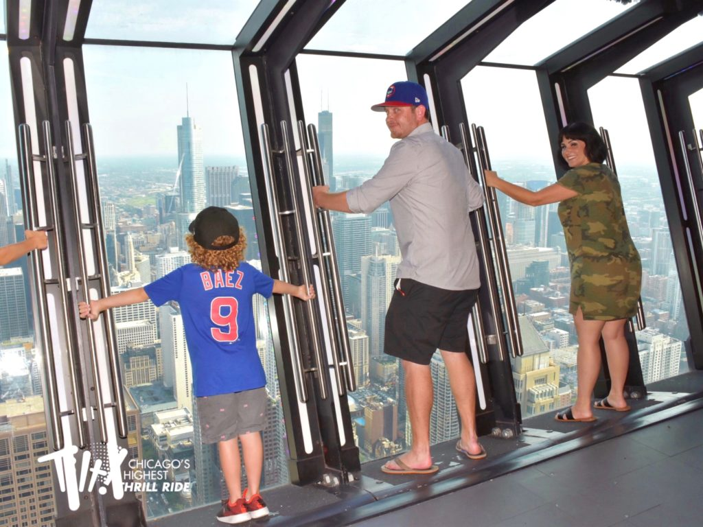 planning the ultimate Midwest baseball road trip: take your family to the tilt experience at the 360 chicago observation deck