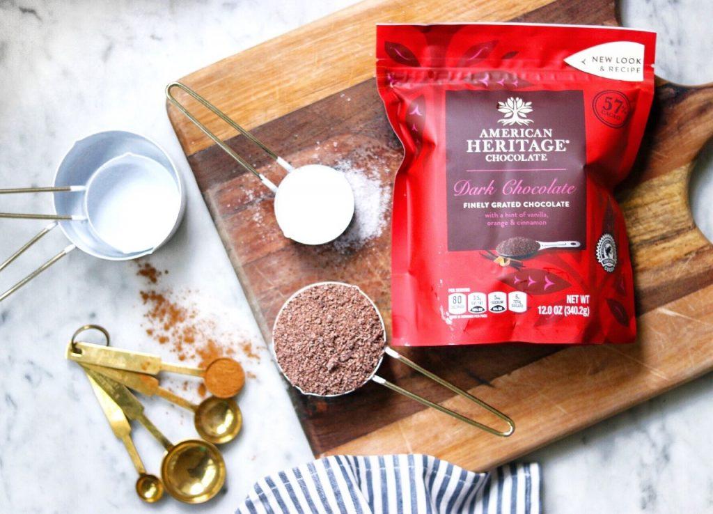 Autumn Spice Dark Chocolate Mousse – easy fall dessert recipe