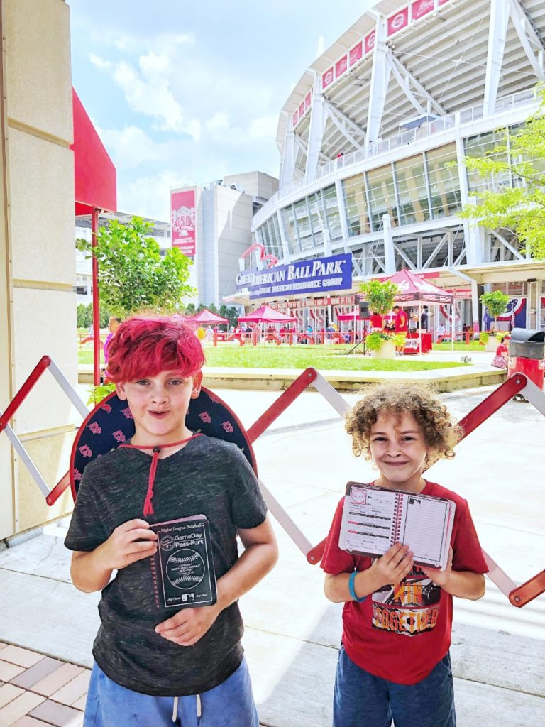 Tips for taking kids to Major League Baseball games: game day passports