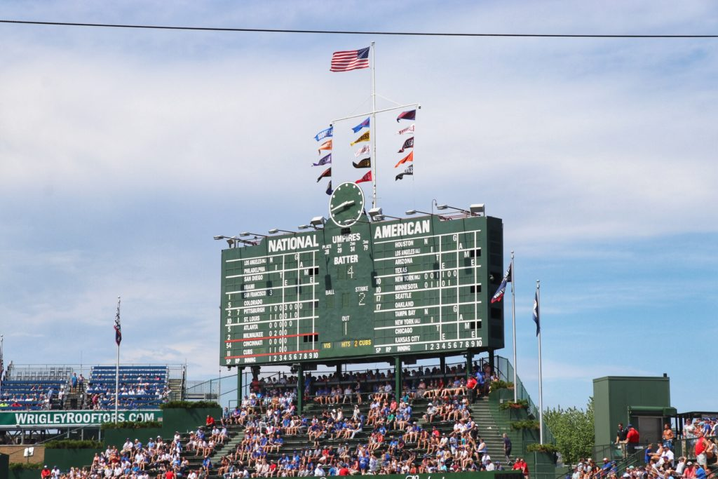ultimate midwest baseball road trip: chicago cubs game at wrigley field