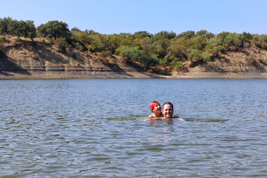 Camping in Marble Falls, TX - Shaffer Bend Recreation Area swimming