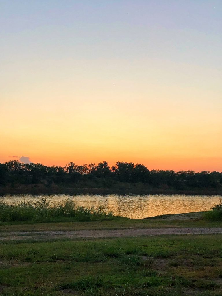 camping at shaffer bend recreation area in marble falls, tx