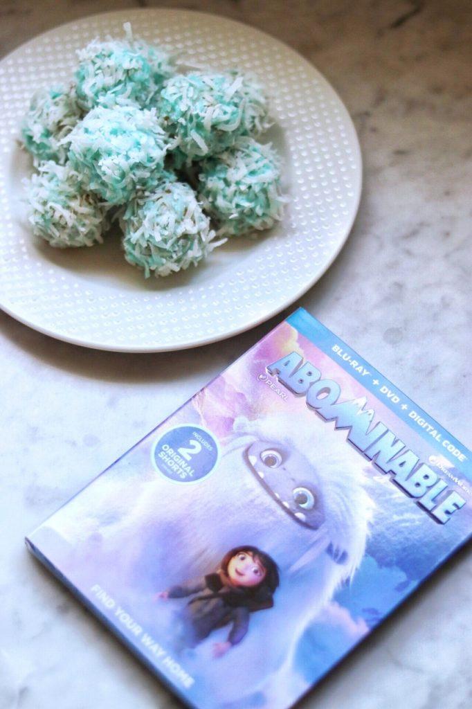 Yeti themed recipe: Abominable Everest Snowballs