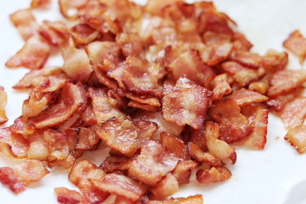 bacon is a key ingredient in this bendy and the ink machine bacon soup recipe