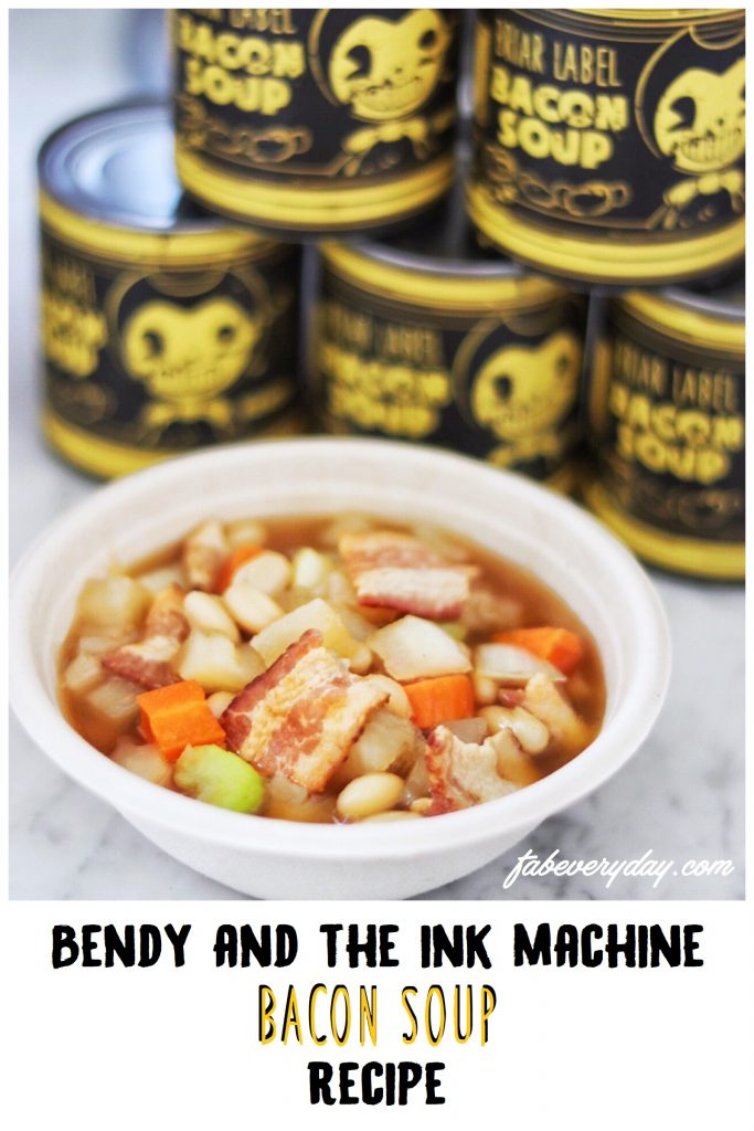 Bendy and the Ink Machine Bacon Soup recipe