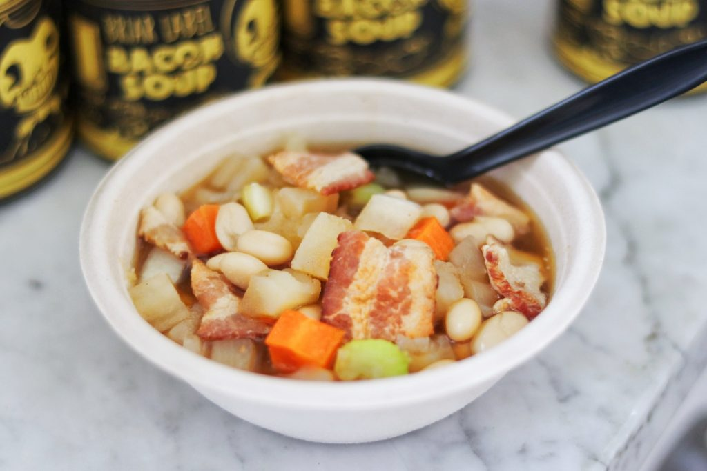slow cooker bendy and the ink machine bacon soup recipe