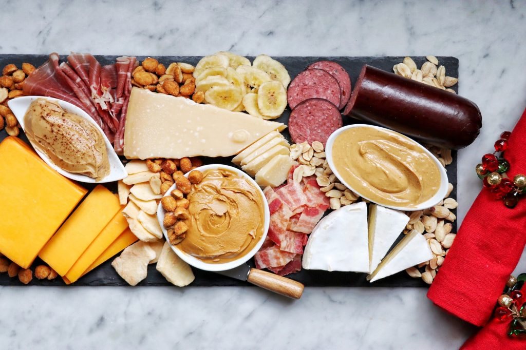 peanut butter charcuterie board recipe and instructions