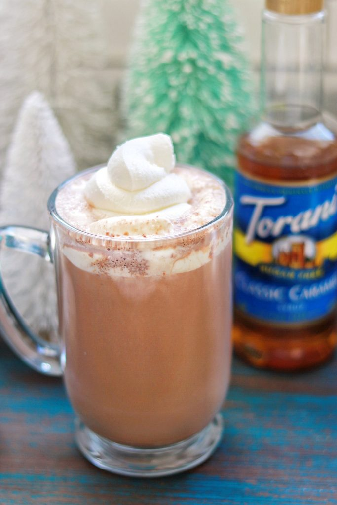 Low Carb Sugar-Free Salted Caramel Hot Chocolate