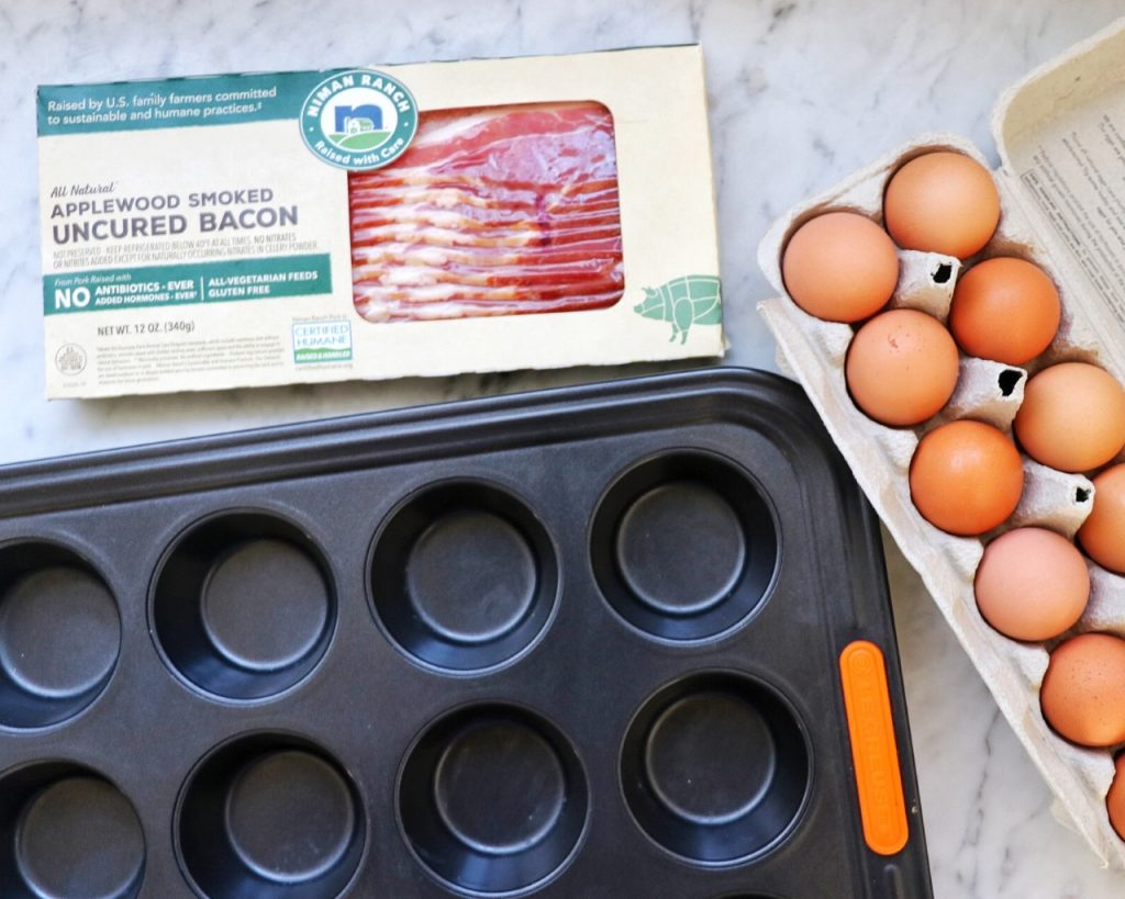 how to make Easy Baked Bacon and Egg Bites