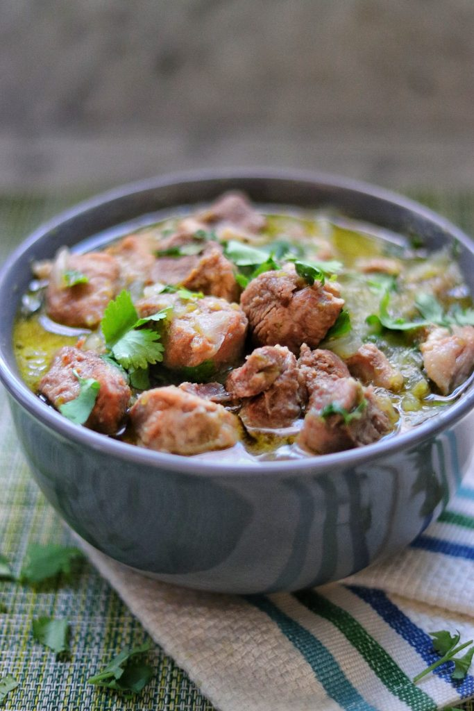 Instant Pot Chile Verde recipe