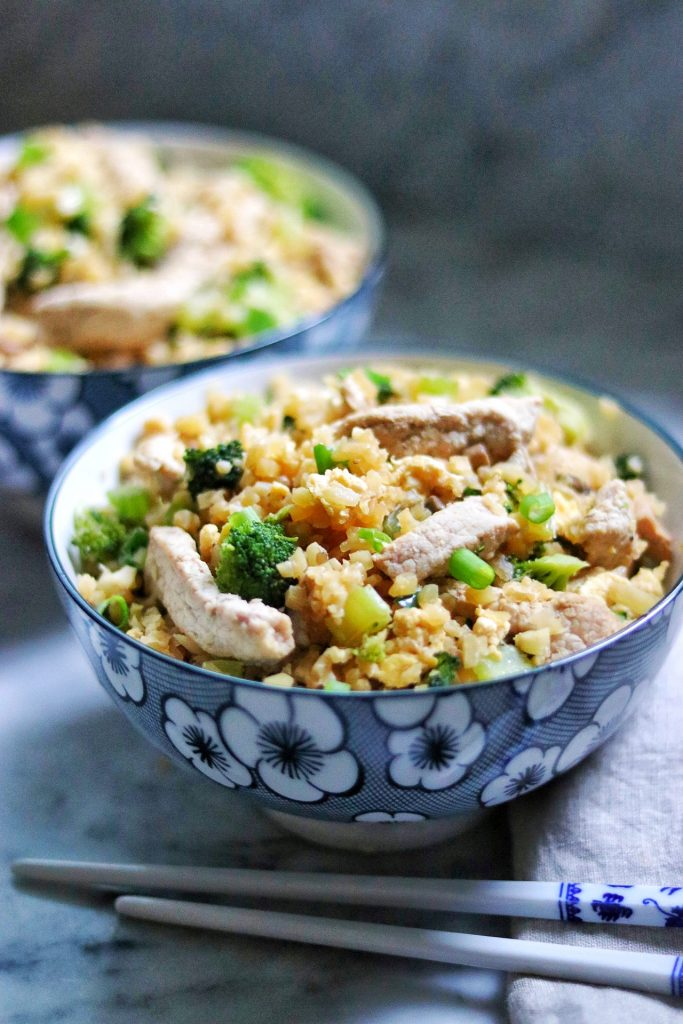 keto pork fried rice recipe