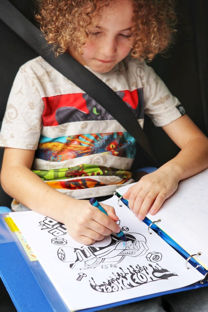road trip activities for toddlers and young kids
